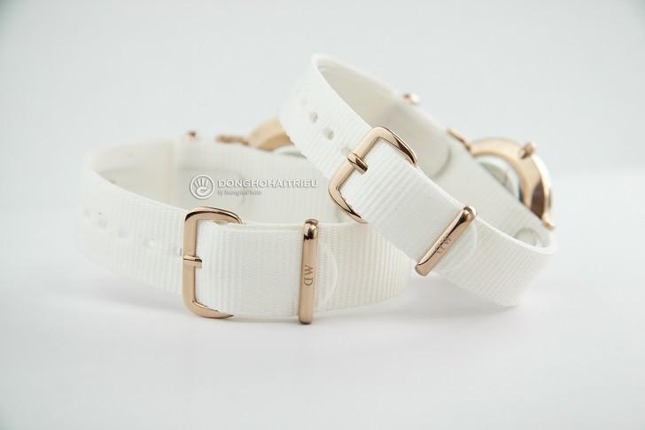 Đồng hồ Daniel Wellington DW00100311 dây vải Nato màu trắng - Ảnh: 5