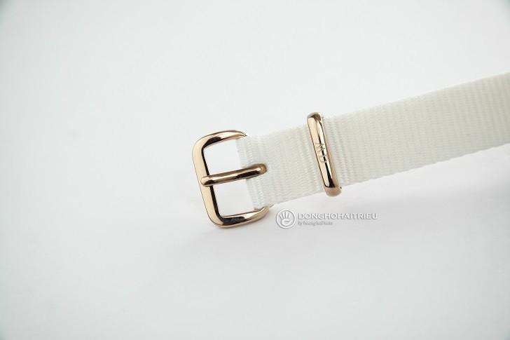 Đồng hồ Daniel Wellington DW00100311 dây vải Nato màu trắng - Ảnh: 6