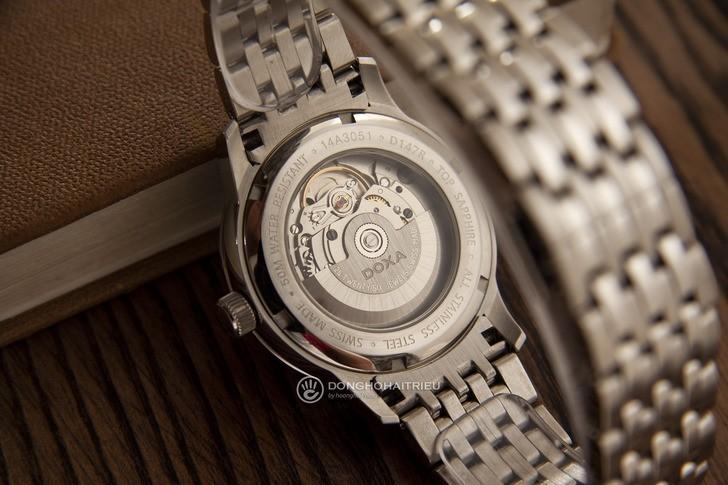 Đồng hồ Doxa D147RWH bộ máy cơ tự động chế tạo tinh tế - Ảnh 5