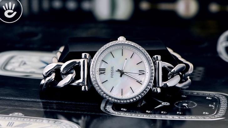 Đồng hồ Fossil ES4689 giá rẻ, thay pin miễn phí trọn đời - Ảnh 2