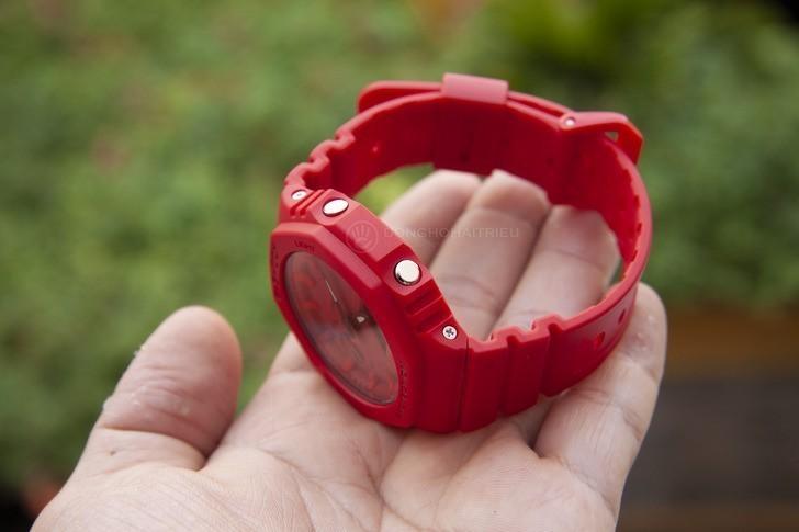 Đồng hồ nam G-Shock GA-2100-4ADR giá rẻ, thay pin miễn phí - Ảnh 4