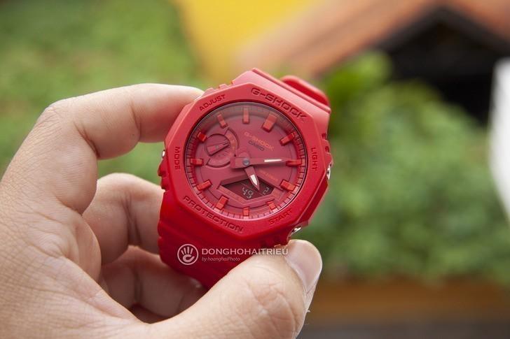Đồng hồ nam G-Shock GA-2100-4ADR giá rẻ, thay pin miễn phí - Ảnh 5