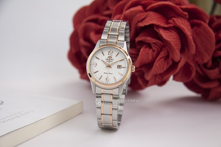 Đồng hồ Orient FNR1Q002W0 máy cơ Nhật, giá rẻ dành cho nữ - Ảnh: 1