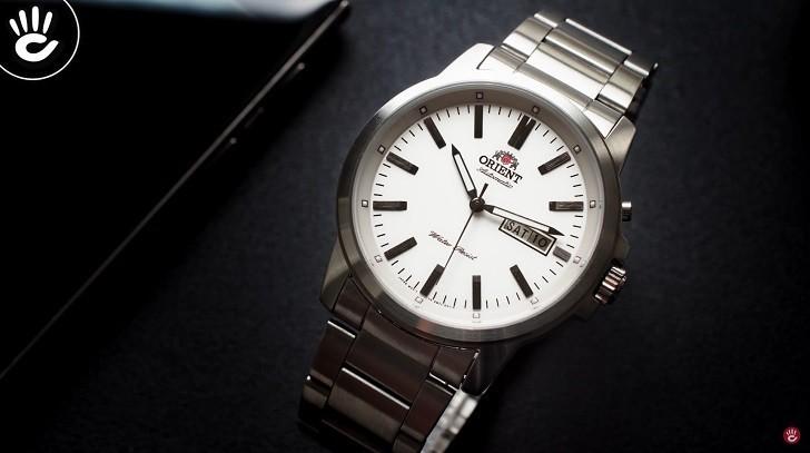Đồng hồ Orient FEM7J005W9 cơ Nhật giá rẻ, lắp ráp in-house - Ảnh: 1