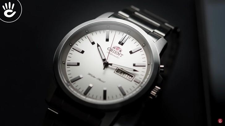 Đồng hồ Orient FEM7J005W9 cơ Nhật giá rẻ, lắp ráp in-house - Ảnh: 11