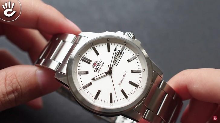 Đồng hồ Orient FEM7J005W9 cơ Nhật giá rẻ, lắp ráp in-house - Ảnh: 4