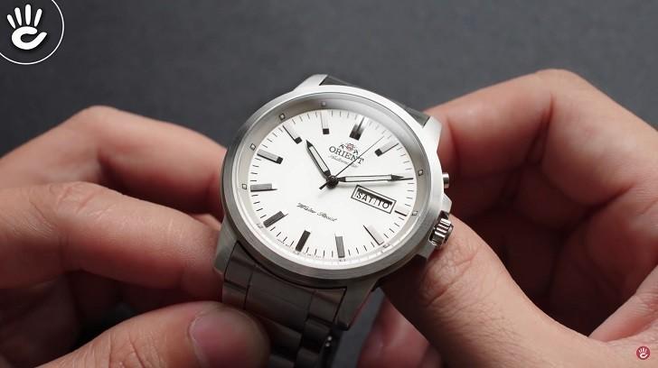 Đồng hồ Orient FEM7J005W9 cơ Nhật giá rẻ, lắp ráp in-house - Ảnh: 5