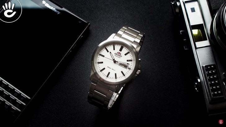 Đồng hồ Orient FEM7J005W9 cơ Nhật giá rẻ, lắp ráp in-house - Ảnh: 6