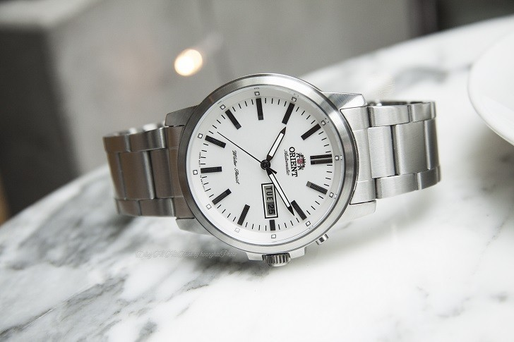 Đồng hồ Orient FEM7J005W9 cơ Nhật giá rẻ, lắp ráp in-house - Ảnh: 7