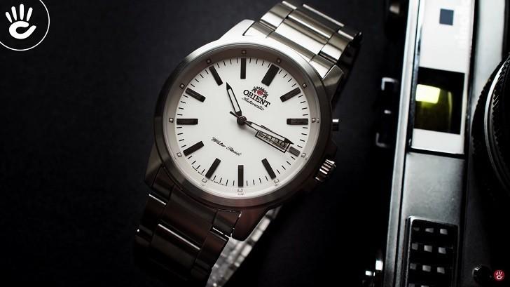 Đồng hồ Orient FEM7J005W9 cơ Nhật giá rẻ, lắp ráp in-house - Ảnh: 8