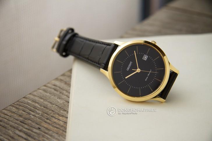 Đồng hồ Orient RF-QD0002B10B 100% máy Nhật, siêu mỏng 7mm - Ảnh 2