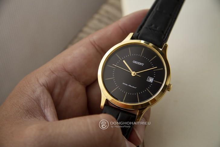 Đồng hồ Orient RF-QD0002B10B 100% máy Nhật, siêu mỏng 7mm - Ảnh 3