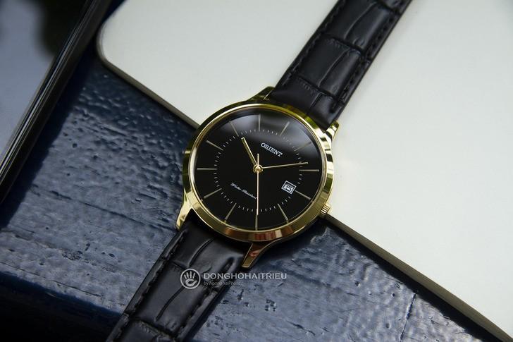 Đồng hồ Orient RF-QD0002B10B 100% máy Nhật, siêu mỏng 7mm - Ảnh 8