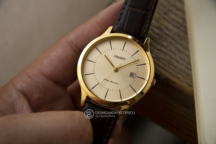 Đồng hồ Orient RF-QD0003G10B 100% máy Nhật, siêu mỏng 7mm - Ảnh 2