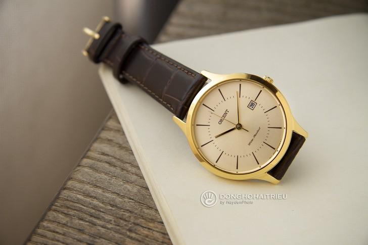 Đồng hồ Orient RF-QD0003G10B 100% máy Nhật, siêu mỏng 7mm - Ảnh 3