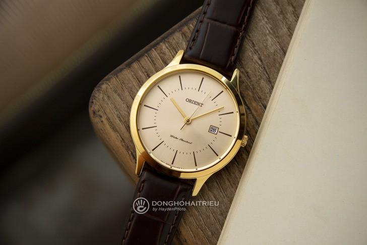 Đồng hồ Orient RF-QD0003G10B 100% máy Nhật, siêu mỏng 7mm - Ảnh 8