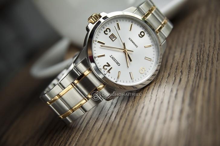 Đồng hồ Orient SUNE5002W0 giá rẻ, đi bơi thoải mái (10atm) - Ảnh: 2