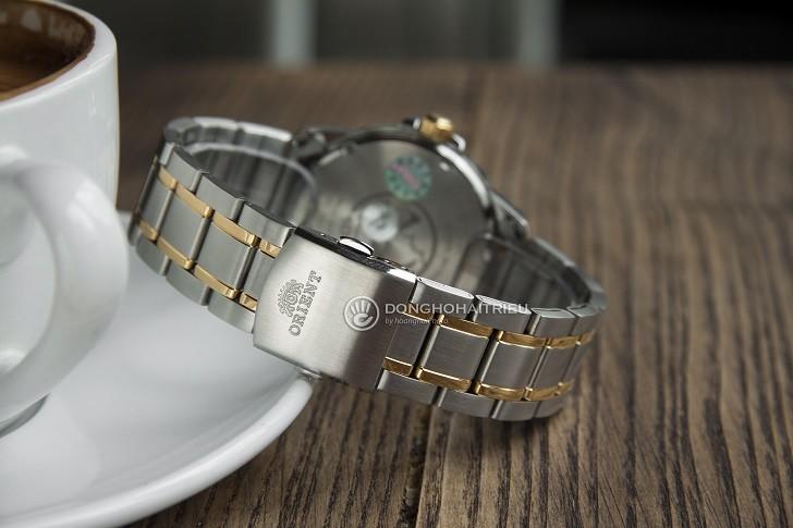 Đồng hồ Orient SUNE5002W0 giá rẻ, đi bơi thoải mái (10atm) - Ảnh: 4