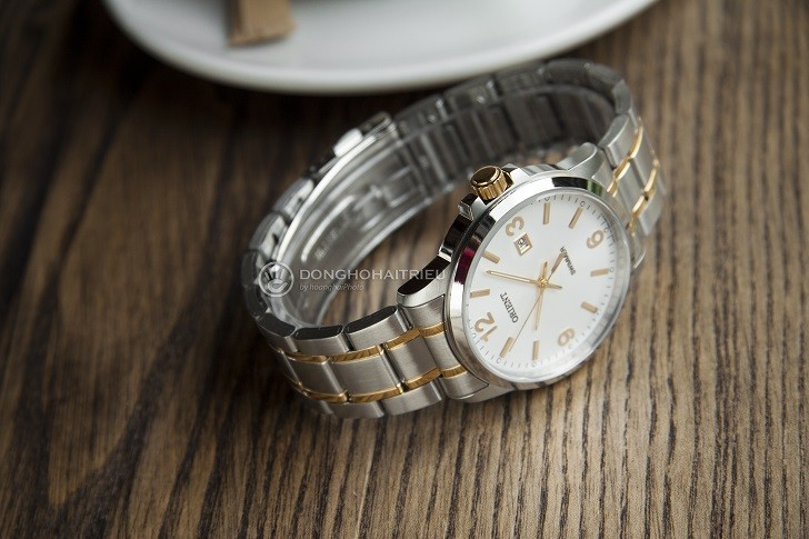 Đồng hồ Orient SUNE5002W0 giá rẻ, đi bơi thoải mái (10atm) - Ảnh: 6