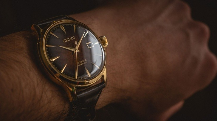 Đồng hồ Seiko SRPD36J1 automatic, trữ cót lên đến 40 giờ - Ảnh 1