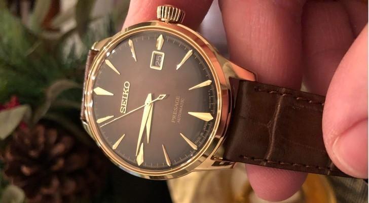 Đồng hồ Seiko SRPD36J1 automatic, trữ cót lên đến 40 giờ - Ảnh 2