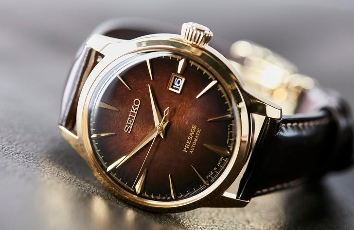 Đồng hồ Seiko SRPD36J1 automatic, trữ cót lên đến 40 giờ - Ảnh 3