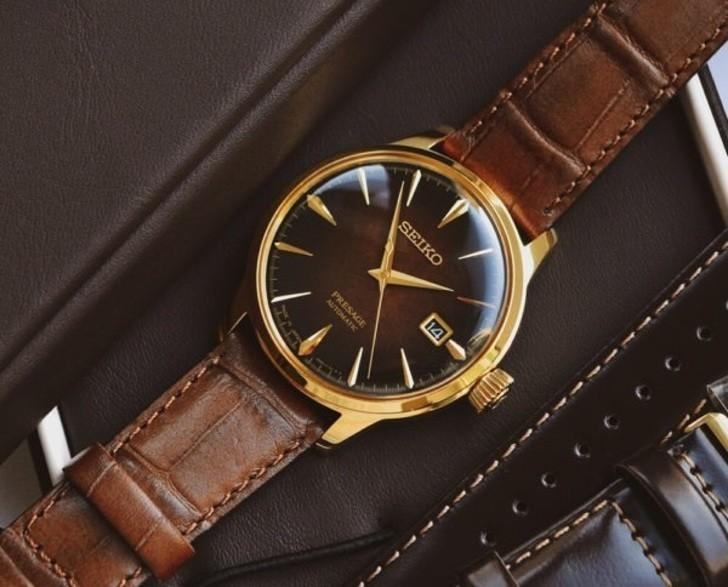 Đồng hồ Seiko SRPD36J1 automatic, trữ cót lên đến 40 giờ - Ảnh 4
