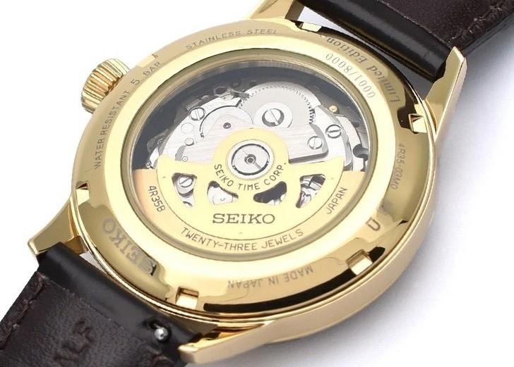 Đồng hồ Seiko SRPD36J1 automatic, trữ cót lên đến 40 giờ - Ảnh 5