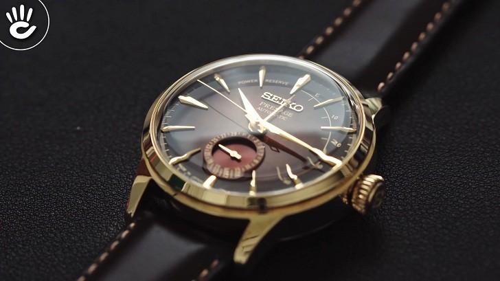 Đồng hồ Seiko SRPD36J1 automatic, trữ cót lên đến 40 giờ - Ảnh 6