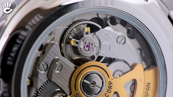 Đồng hồ cơ Seiko SRPD37J1 mặt xanh ngọc huyền diệu - Ảnh 6