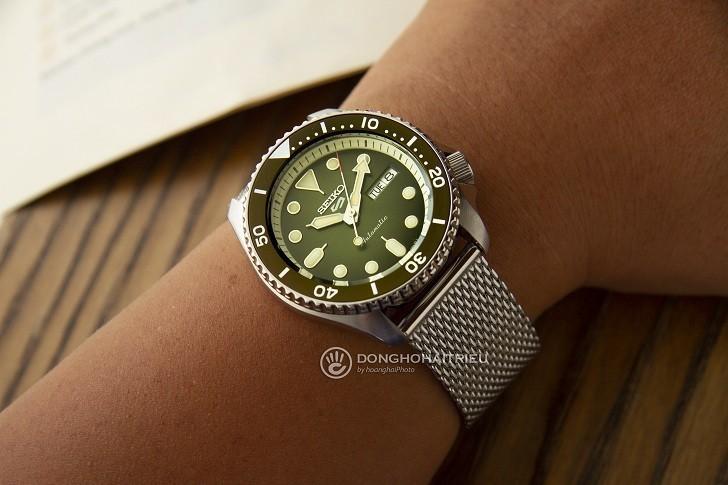 Đồng hồ cơ Seiko SRPD75K1 trữ cót mạnh mẽ lên đến 40 giờ - Ảnh 5