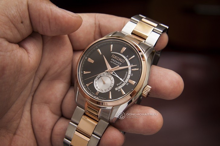 Đồng hồ Seiko Presage SSA354J1 máy cơ, trữ cót 40 giờ - Ảnh: 3