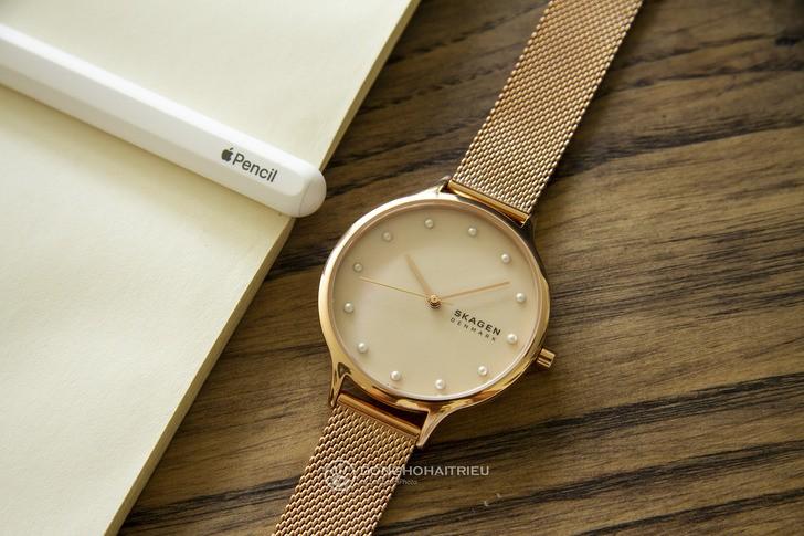 Đồng hồ Skagen SKW2773: Vẻ đẹp siêu mỏng, dây lưới thời trang - Ảnh 1