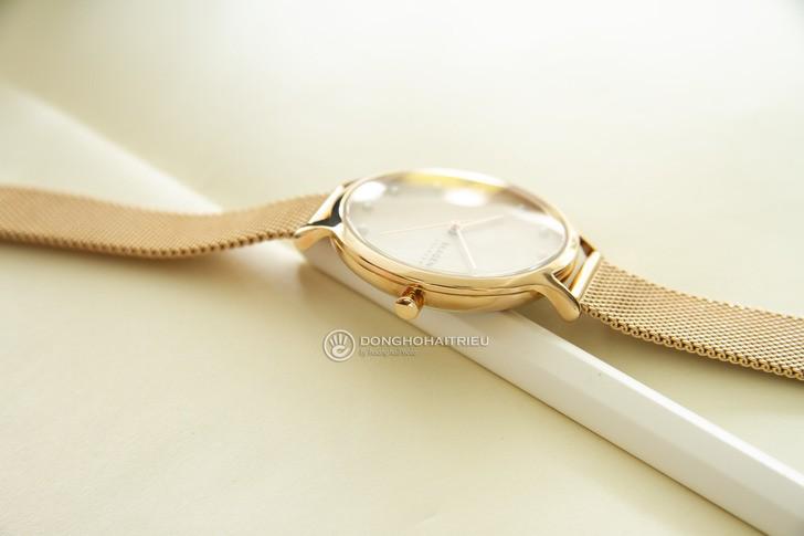Đồng hồ Skagen SKW2773: Vẻ đẹp siêu mỏng, dây lưới thời trang - Ảnh 3