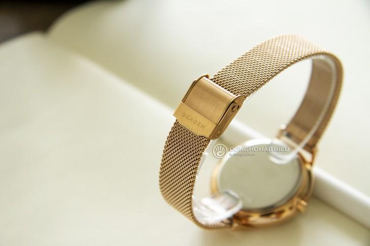 Đồng hồ Skagen SKW2773: Vẻ đẹp siêu mỏng, dây lưới thời trang - Ảnh 4
