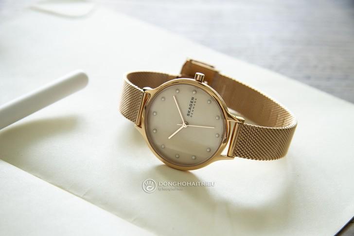 Đồng hồ Skagen SKW2773: Vẻ đẹp siêu mỏng, dây lưới thời trang - Ảnh 5