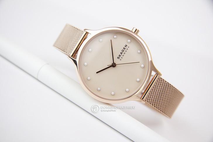 Đồng hồ Skagen SKW2773: Vẻ đẹp siêu mỏng, dây lưới thời trang - Ảnh 6