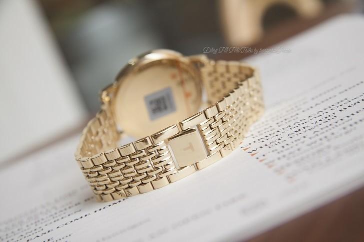 Đồng hồ Tissot T109.410.33.021.00 Thụy Sỹ, mạ PVD sang trọng - Ảnh: 2