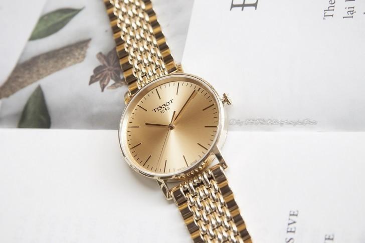 Đồng hồ Tissot T109.410.33.021.00 Thụy Sỹ, mạ PVD sang trọng - Ảnh: 4