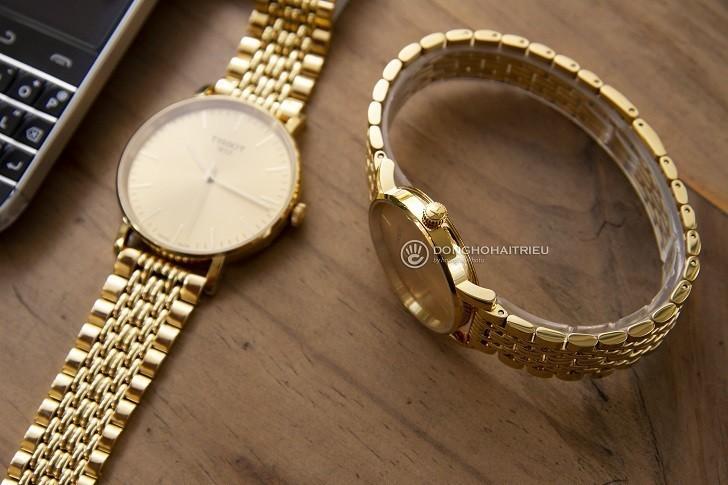 Đồng hồ Tissot T109.410.33.021.00 Thụy Sỹ, mạ PVD sang trọng - Ảnh: 6