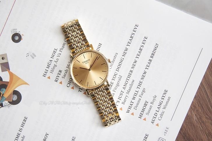 Đồng hồ Tissot T109.410.33.021.00 Thụy Sỹ, mạ PVD sang trọng - Ảnh: 8