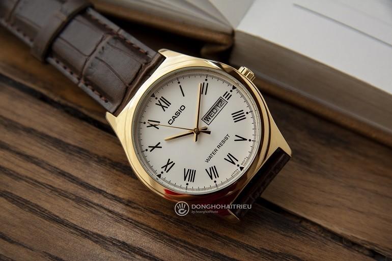 Các thương hiệu đồng hồ nổi tiếng, giá bình dân tại Việt Nam- Ảnh: Casio MTP-V006GL-7BUDF