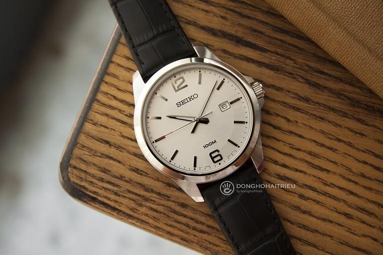 Các thương hiệu đồng hồ nổi tiếng, giá bình dân tại Việt Nam- Ảnh: Seiko SUR249P1