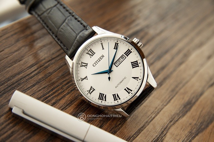 Đồng hồ Citizen NH8360-12A automatic, trữ cót đến 40 giờ - Ảnh 1