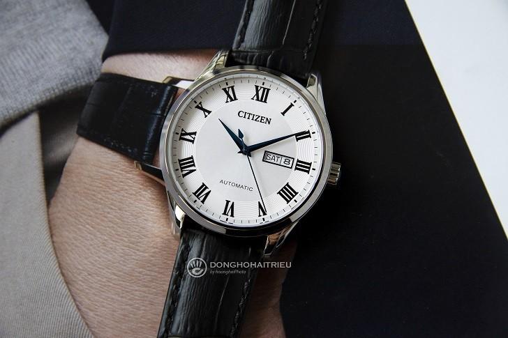 Đồng hồ Citizen NH8360-12A automatic, trữ cót đến 40 giờ - Ảnh 2
