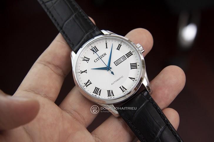 Đồng hồ Citizen NH8360-12A automatic, trữ cót đến 40 giờ - Ảnh 4