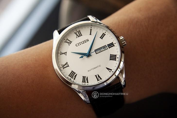 Đồng hồ Citizen NH8360-12A automatic, trữ cót đến 40 giờ - Ảnh 5