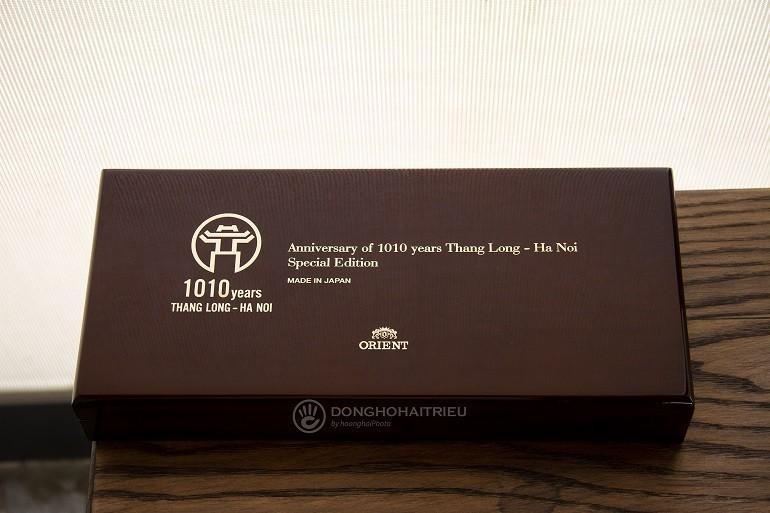 Đánh giá đồng hồ Orient 1010, kỷ niệm 1010 năm Thăng Long - Ảnh: Hộp