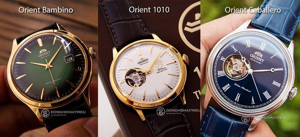 Đánh giá đồng hồ Orient 1010, kỷ niệm 1010 năm Thăng Long - Ảnh: So sánh