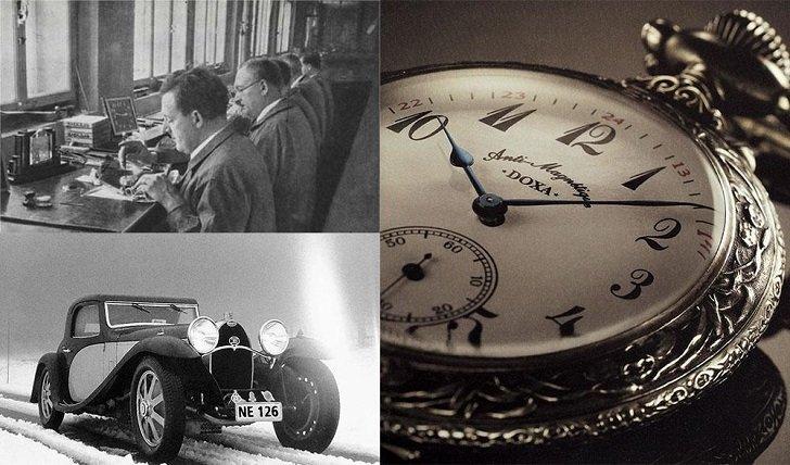 Đồng hồ Doxa D216RIY Thụy Sỹ máy cơ sang trọng, đẳng cấp - Ảnh: 1